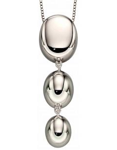 Mon-bijou - D4900a - Collier tendance 3 gouttes en argent 925/1000