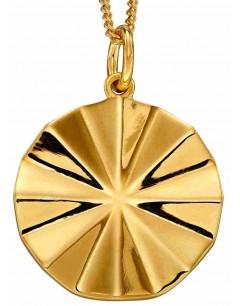 Mon-bijou - D4904 - Collier chic plaqué or en argent 925/1000