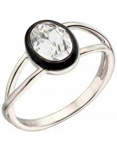 Mon-bijou - D3744a - Bague cristal en argent 925/1000