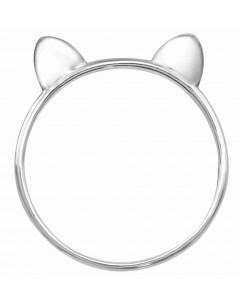 Mon-bijou - H35667 - Bague original chat en argent 925/1000
