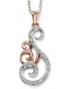 Collier diamant en Or 375/1000 carats