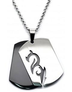 Mon-bijou - H1336 - Collier en acier inoxydable