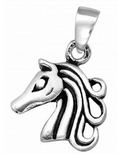 Mon-bijou - H39126 - Collier cheval en argent 925/1000