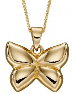 Mon-bijou - D2260 - Collier papillon en or 375/1000