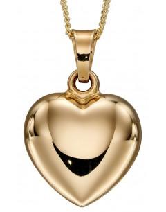 Mon-bijou - D2261 - Collir coeur en or 375/1000