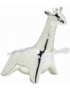 Mon-bijou - D422g - Cadeau Girafle plaqué en argent 925/1000