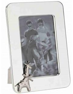 Mon-bijou - D424g - Cadeau cadre Girafle plaqué en argent 925/1000
