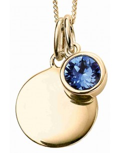 Mon-bijou - D5016 - Collier plaqué or en argent 925/1000