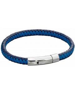 Mon-bijou - D5275 - Bracelet cuir en acier inoxydable