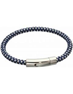 Mon-bijou - D5327 - Bracelet nylon en acier inoxydable