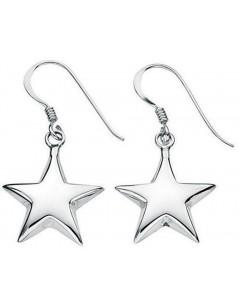 Mon-bijou - D3192 - Boucle d'oreille étoiles en argent 925/1000